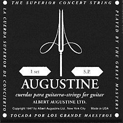 Albert Augustine Silver Black Label Classical Guitar Strings (AUGBLK)