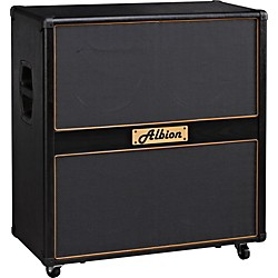 Albion Amplification GLS Series GLS412 Guitar Speaker Cabinet 280W (GLS412 BLACK)