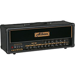 Albion Amplification TCT Series TCT50H 50W Tube Guitar Amp Head (TCT50H BLACK)