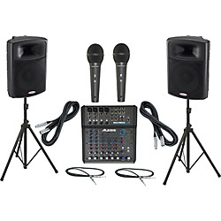 Alesis Multimix 8 USB FX / Harbinger APS15 PA Package (Multimix8USBFXAPS15_48626)