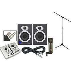 Alesis iO2 StudioPro3 Recording Package (iO2 SP3 KIT)
