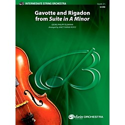 "Alfred ""Gavotte"" and ""Rigadon"" from Suite in A Minor String Orchestra Grade 2.5 Set (00-40423)"