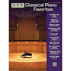Alfred 10 For $10 Classical Piano Favorites (Piano, Vocal, and Chords Book) (00-31476)