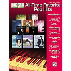 Alfred 10 for 10 Sheet Music All-Time Favorite Pop Hits Piano/Vocal/Chords (322168)