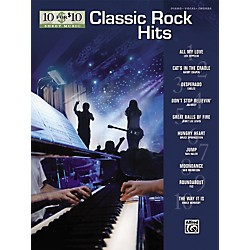 Alfred 10 for 10 Sheet Music Classic Rock Piano/Vocal/Chords (322167)