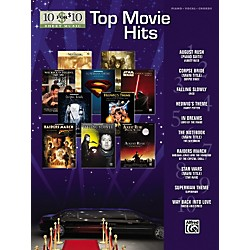 Alfred 10 for 10 Sheet Music Top Movie Hits Piano/Vocal/Chords (00-31471)