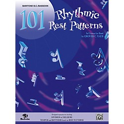 Alfred 101 Rhythmic Rest Patterns Baritone B.C. & Bassoon (00-EL00558)