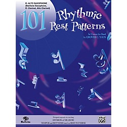Alfred 101 Rhythmic Rest Patterns E-Flat Alto Saxophone (00-EL00552)