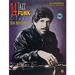 Alfred 14 Jazz & Funk Etudes Book/CD (00-EL03952)