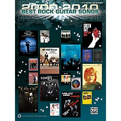 Alfred 2000-2010 Best Rock Guitar Songs Book (322370)