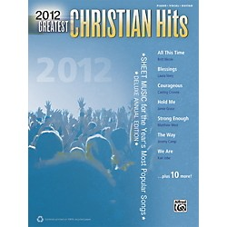 Alfred 2012 Greatest Christian Hits PVC Book (00-39320)
