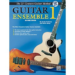 Alfred 21st Century Guitar Ensemble 1 Score Book & CD (00-EL03955CD)