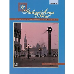 Alfred 26 Italian Songs and Arias Book & CD (Medium Low) (00-3397)