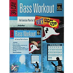 Alfred 30-Day Bass Workout (Book/DVD) (00-24212)