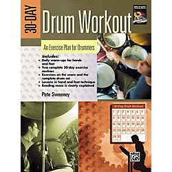 Alfred 30-Day Drum Workout (Book/DVD) (00-24210)