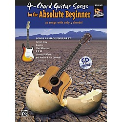 Alfred 4-Chord Guitar Songs for the Absolute Beginner Book & CD (00-30265)