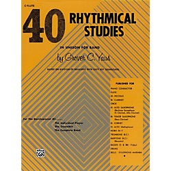 Alfred 40 Rhythmical Studies Horn in F (00-EL01317)