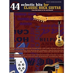 Alfred 44 Eclectic Hits for Classic Rock Guitar Tab Songbook (00-25394)