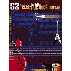 Alfred 52 Eclectic Hits for Electric Rock Guitar Tab Songbook (00-25481)