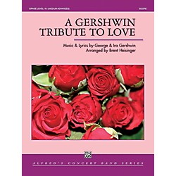 Alfred A Gershwin Tribute to Love Concert Band Grade 4.5 Set (00-41962)