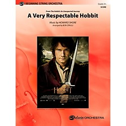 Alfred A Very Respectable Hobbit (from The Hobbit: An Unexpected Journey) Full Orchestra Grade 2.5 Set (00-40432)