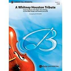 Alfred A Whitney Houston Tribute Concert Full Orchestra Grade 3.5 Set (00-40450)