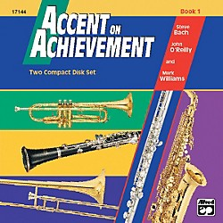 Alfred Accent on Achievement Book 1 2 CD Set (00-17144)