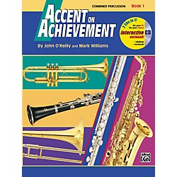 Alfred Accent on Achievement Book 1 Combined PercussionS.D. B.D. Access. & Mallet Percussion Book & CD (00-17099)