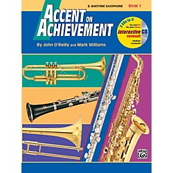 Alfred Accent on Achievement Book 1 E-Flat Baritone Saxophone Book & CD (00-17089)