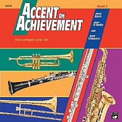 Alfred Accent on Achievement Book 2 2 CD Set (00-18278)