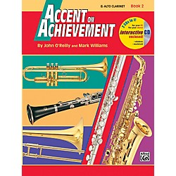 Alfred Accent on Achievement Book 2 E-Flat Alto Clarinet Book & CD (00-18259)
