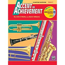 Alfred Accent on Achievement Book 2 E-Flat Baritone Saxophone Book & CD (00-18263)