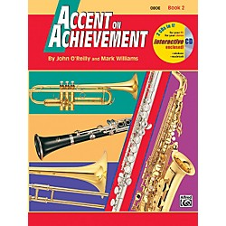Alfred Accent on Achievement Book 2 Oboe Book & CD (00-18256)