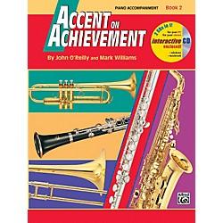 Alfred Accent on Achievement Book 2 Piano Accompaniment (00-18274)