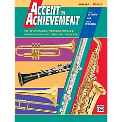 Alfred Accent on Achievement Book 3 Horn in F (00-18063)
