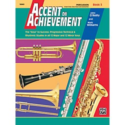 Alfred Accent on Achievement Book 3 PercussionSnare Drum Bass Drum & Accessories (00-18069)