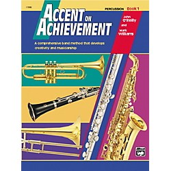 Alfred Accent on Achievement Percussion Volume 1 with CD (00-17097)