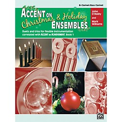 Alfred Accent on Christmas and Holiday Ensembles B-Flat Clarinet/Bass Clarinet (00-22230)
