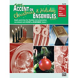 Alfred Accent on Christmas and Holiday Ensembles Flute (00-22227)