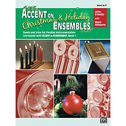 Alfred Accent on Christmas and Holiday Ensembles Horn in F (00-22235)
