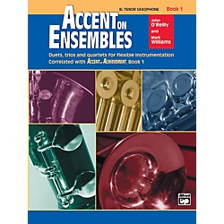 Alfred Accent on Ensembles Book 1 B-Flat Tenor Saxophone (00-19617)