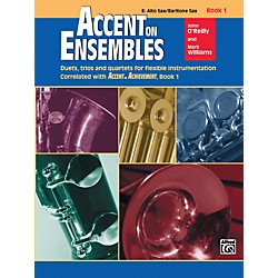 Alfred Accent on Ensembles Book 1 E-Flat Alto Sax Baritone Sax (00-19616)
