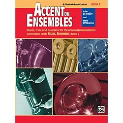 Alfred Accent on Ensembles Book 2 B-Flat Clarinet/Bass Clarinet (00-20625)