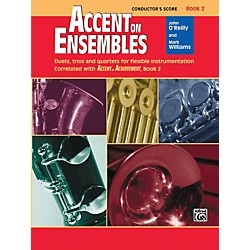 Alfred Accent on Ensembles Book 2 Conductor's Score (00-20629)