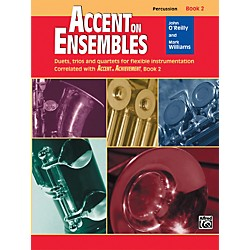 Alfred Accent on Ensembles Book 2 Percussion (00-20636)