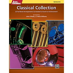 Alfred Accent on Performance Classical Collection Baritone Bass Clef Book (00-41974)