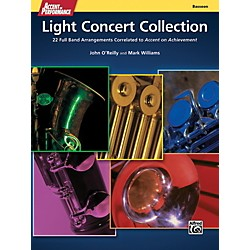 Alfred Accent on Performance Light Concert Collection Bassoon Book (00-41335)