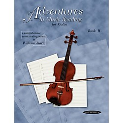 Alfred Adventures in Music Reading for Violin Book II (00-0619)