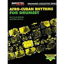 Alfred Afro-Cuban Rhythms For Drumset (Book/CD) (00-MMBK0001CD)