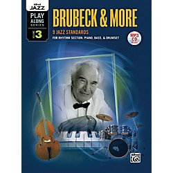 Alfred Alfred Jazz Play-Along Series, Vol. 3: Brubeck & More Flexible Instrumentation Book & CD (00-36096)